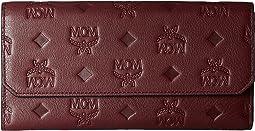 MCM - Klara Monogrammed Leather Flap Wallet