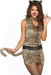 Wonderland W40011 Pretty Kitty Fancy Dress Costume, Multi-Colour, M (EUR 38-40)