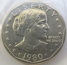 1980 -P Susan B Anthony Dollar