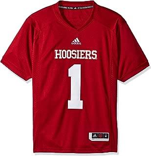adidas Indiana Hoosiers NCAA Men's #1 Red Premier Football Jersey