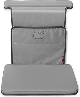Skip Hop Moby - Codera y rodillera para tina, color gris