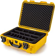 Nanuk 930 Waterproof Hard Case with Padded Dividers - Yellow - Made in Canada