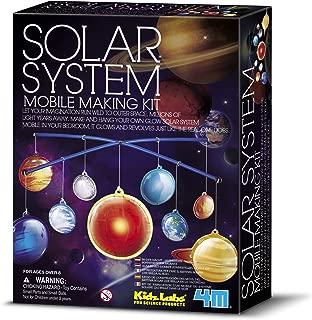 4M Glow-in-the-Dark Solar System Mobile Making Kit