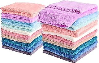 دستمال توالت کودک کیپو 20 بسته میکروفایبر Coral Fleece اضافی جاذب و نرم برای نوزادان ، نوزادان و کودکان نوپا