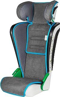 Asiento infantil Walser Noemi, asiento infantil plegable con reposacabezas de altura ajustable, probado según la norma ECE R129, creciendo a lo largo de 3-8 anos antracita/azul