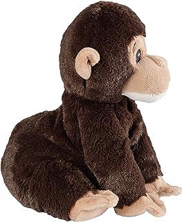 Warmies® Mini schimpans värmekudde med avtagbar hirs lavendelfyllning ca 20 cm