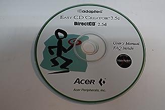 Adaptec Easy CD Creator 3.5c/DirectCD 2.5d