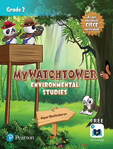My Watchtower Environmental Studies ICSE Class Second First Edition By Pearson
