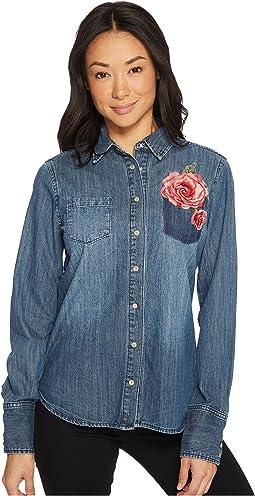 Stetson - Boyfriend Fit Western Shirt 60z