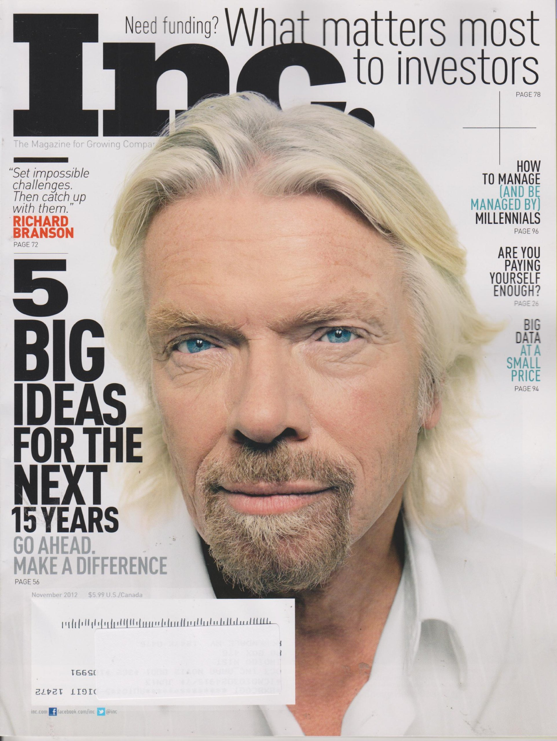 INC November 2012 Richard Branson 5 Big Ideas For The Next 15 Years