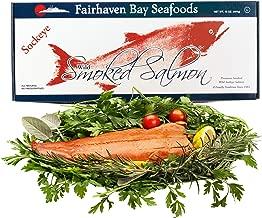 Alaska Smoked Salmon, Sockeye, Wild, 16 Oz. Filet