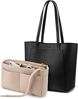LOVEVOOK Handbags for Women Shoulder Tote Bags Satchel with Purse Organizer Insert