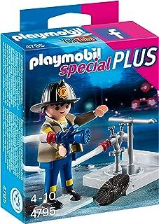 Playmobil - Bombero con Manguera (47950)