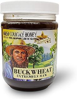 Goshen Honey Amish Extremely Raw Buckwheat Honey 100% Natural Honey Health Benefits Unfiltered OU Kosher Certified | 1 Lb