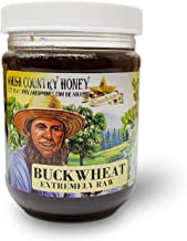 Goshen Honey Amish Extremely Raw Buckwheat Honey 100% Natural Honey Health Benefits Unfiltered OU Kosher Certified | 1 Lb