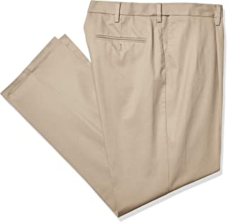 Dockers Men's Big and Tall Classic Fit Signature Khaki Lux Cotton Stretch Pants - Pleated D3