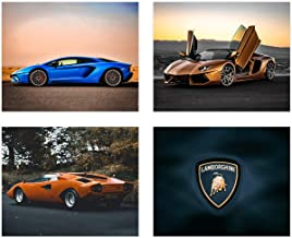 CAR POSTER THE AVENTADOR AA148 Photo Picture Poster Print Art A0 A1 A2 A3 A4