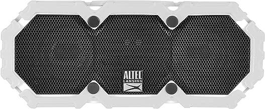 Altec Lansing IMW578 LifeJacket 3 Waterproof Bluetooth Speaker with Voice Control, White