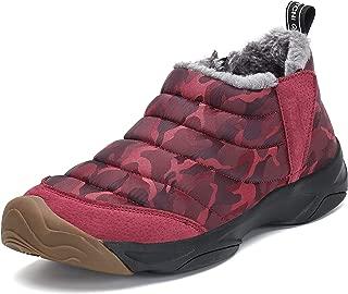 Herren Toronto Leder Warm Twin Stiefel mit Reißverschluss Gefüttert