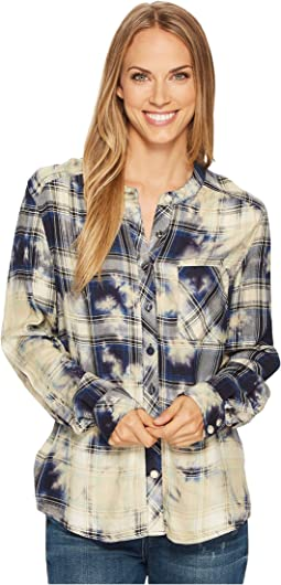 Tolani - Kiara Plaid Top
