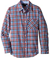 Toobydoo - Happy Checks Flannel Shirt (Infant/Toddler/Little Kids/Big Kids)