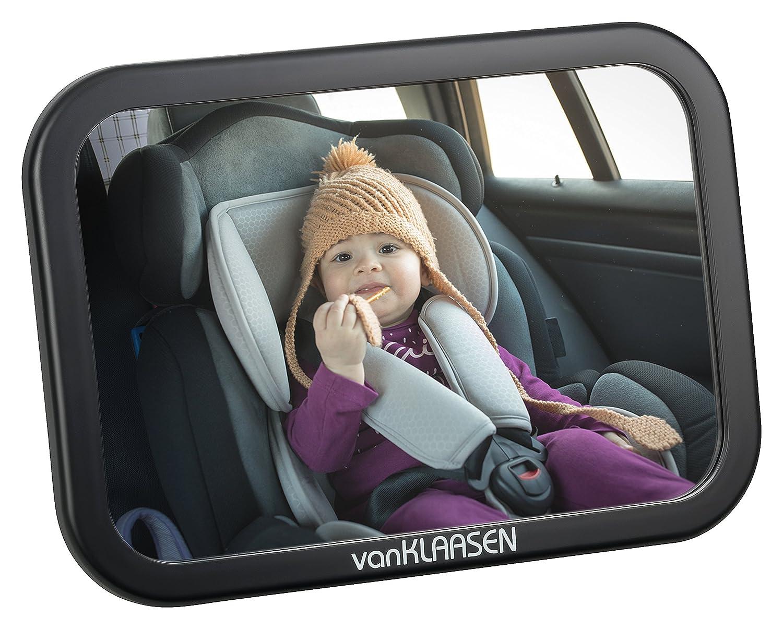 Van Klaasen Rücksitzspiegel Für Babys Einfache Montage Für Jedes Auto Geeignet Baby