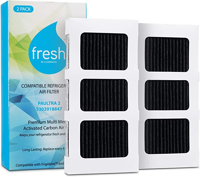 2X Refrigerator Air Filter for Frigidaire FGHN2866PF1