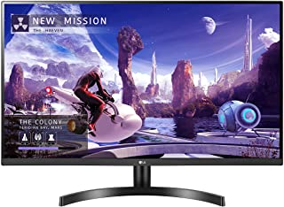 """LG 27QN600-B 27"""" QHD (2560 x 1440) IPS Display with FreeSync, sRGB 99% Color Gamut, HDR10 with a 3-Side Virtually Borderle..."""
