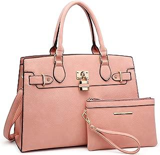 Women Handbags and Purses Ladies Shoulder Bag Top Handle Satchel Tote Work Bag with Wallet
