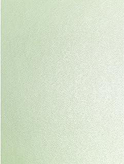 Juego de 10 hojas de papel brillante satinado A4, de color menta verde Peregrina Majestic, de 120g/m², de doble cara, aptas para impresoras de inyección de tinta y láser