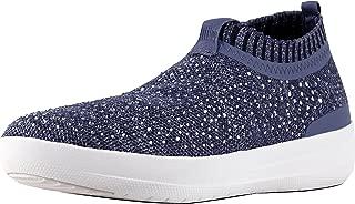 Womens Uberknit Slip On Crystal Sneakers