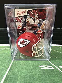 Kansas City Chiefs NFL Helmet Shadowbox w/Kareem Hunt card