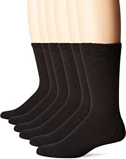 No Nonsense Cushion Crew Socks (6 Pack) Made In Usa