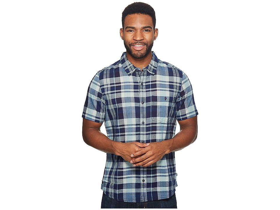 Toad&Co Beckmen Short Sleeve Slim Shirt (Arctic) Men