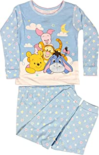 Winnie The Pooh Pajamas 2-Piece Long Sleeve PJ Set for Babies