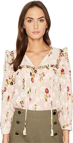 Kate Spade New York - In Bloom Chiffon Top