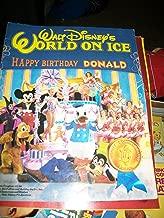 Walt Disneys World on Ice 1984 Souvenir Program (happy birthday donald)