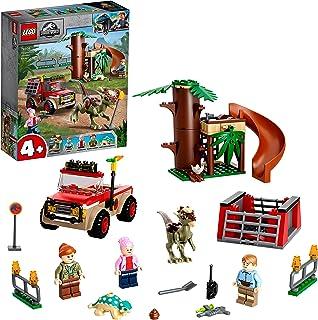 LEGO 76939 Jurassic World Stygimoloch dinosaurus ontsnapping Speelgoed Startset voor Meisjes van 4 met LEGO-figuren en een...