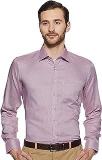 Van Heusen Men's Plain Slim fit Formal Shirt
