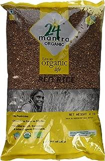 24 Mantara Organic Rice, Red, 4 Pound