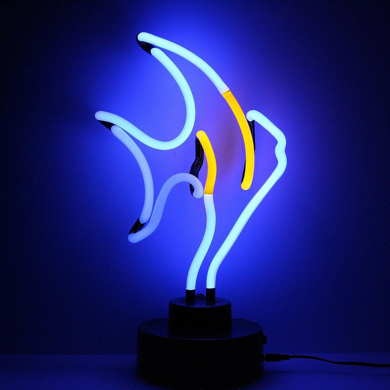 Icon Neon Tropical Fish Real Neon Lighting Skulptur mehrfarbig