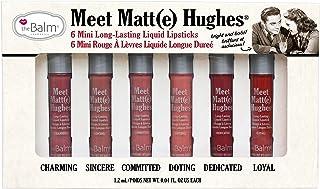 Meet Matte Hughes Set of 6 Mini Long-Lasting Liquid Lipsticks