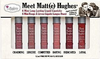 theBalm Meet Matt(e) Hughes Set of 6 Mini Long-Lasting Liquid Lipsticks