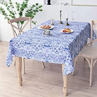 Obal William Morris Tablecloth Original Design Wipe Clean Tablecloth Water Resistant Rectangular Table cloth Kitchen Dinni...