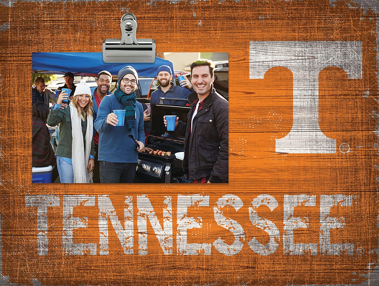NCAA Tennessee Volunteers Team Name ClipIt Photo Frame