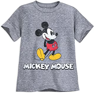 Disney Mickey Mouse Classic T-Shirt for Boys - Gray Multi
