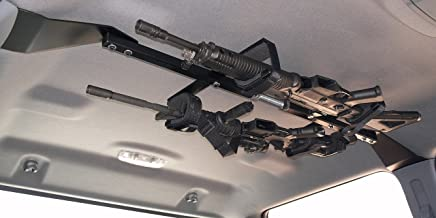 Great Day CL1502T Center-Lok Overhead 2-Gun Rack for Tactical Weapons (48