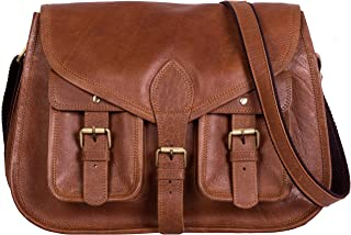 KPL 14 Inch Leather Purse Women Shoulder Bag Crossbody...
