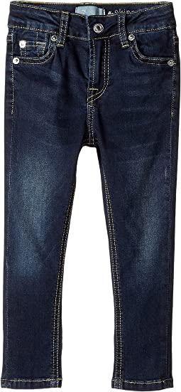 7 For All Mankind Kids - Denim Jeans in Dark Canterbury (Toddler)