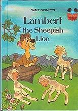 Best lambert the sheepish lion book Reviews